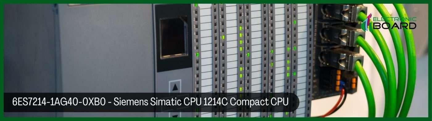 Siemens Simatic CPU 1214C Compact CPU