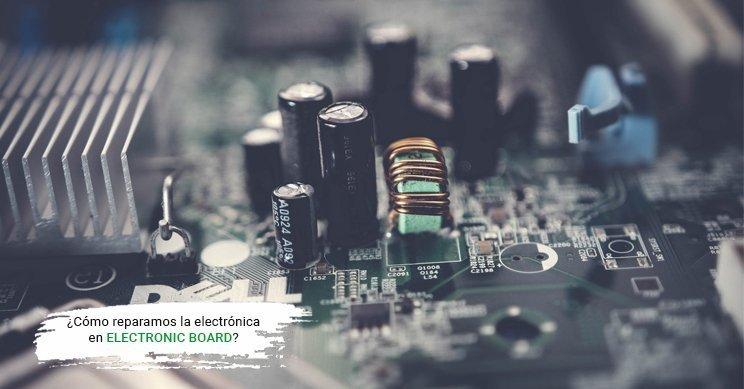 Cómo reparar electrónica industrial