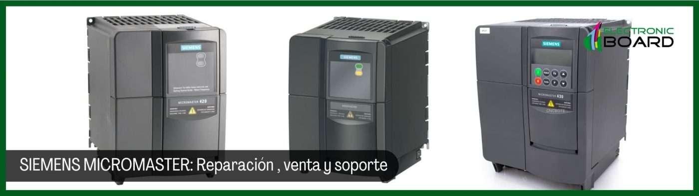 Siemens Micromaster - Reparación, venta y soporte