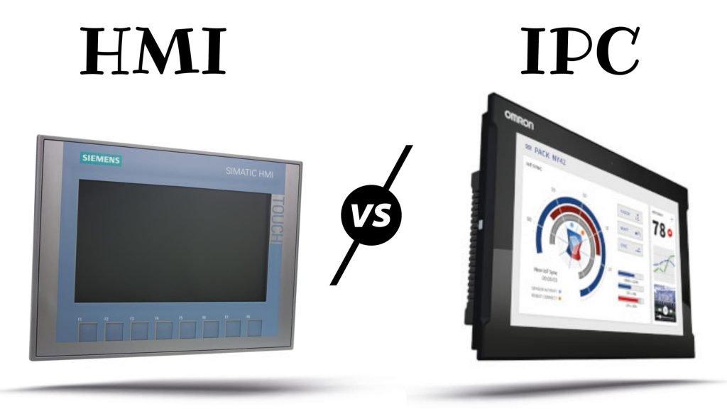 Diferencias entre HMI y IPC