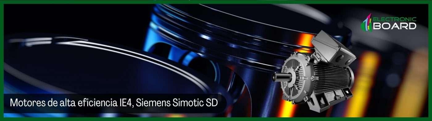 Motores de alta eficiencia IE4, Siemens Simotic SD