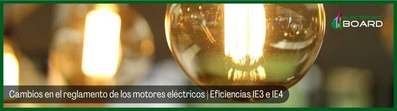 Cambios en el reglamento de los motores eléctricos Eficiencias IE3 e IE4