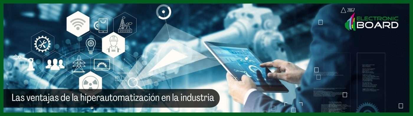 Hiperautomatización en la industria