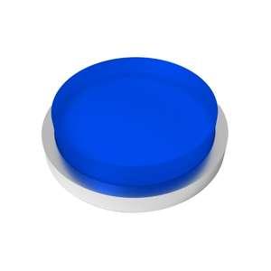 Botón azul